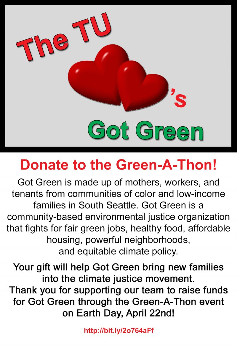 2017 green a thon flyer